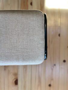 ミシンの椅子 張り替え後