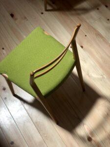 天童木工の椅子 完成